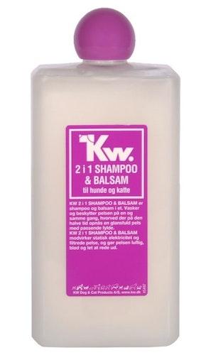 KW 2 i 1 (Bad & Føn) shampo 500ml
