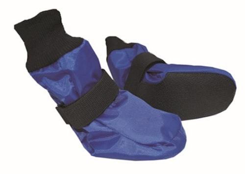 Trine Hundesokk m. silikon/gummisåle Blå 6 størrelser fra 135,-