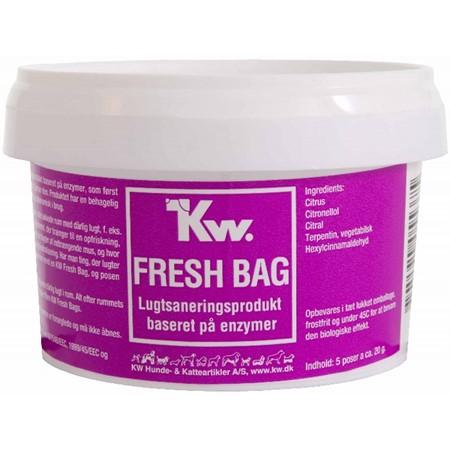 KW Fresh Bag 5 X 20 G I Plastbøtte