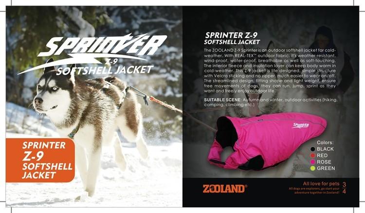 Sprinter Z9 dekken Sort 3 størrelser fra 489,-