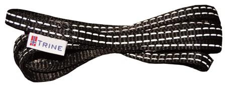 Trygg Sporline 10mm Sort 15meter
