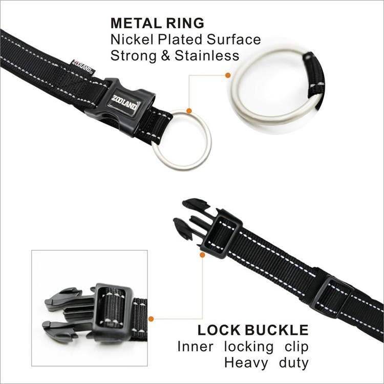 Halsbånd EXTM-COMFORT Rosa 3 størrelser fra 120,-