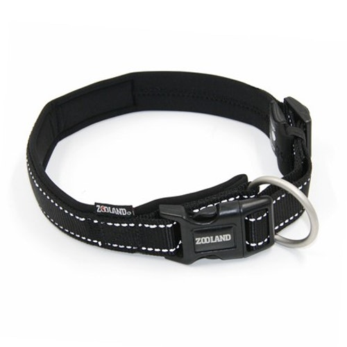 Halsbånd EXTM-COMFORT Sort 3 størrelser fra 120,-