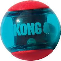 Kong Squeezz ball i M og L fra 125,-