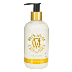 Hand & Body Lotion, White Linen