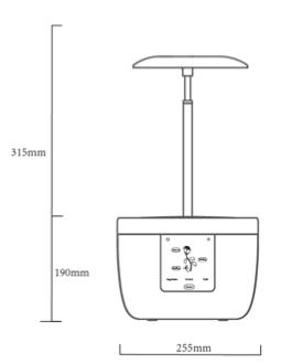 Odlingskruka Grow Pot  Hydroponic LED