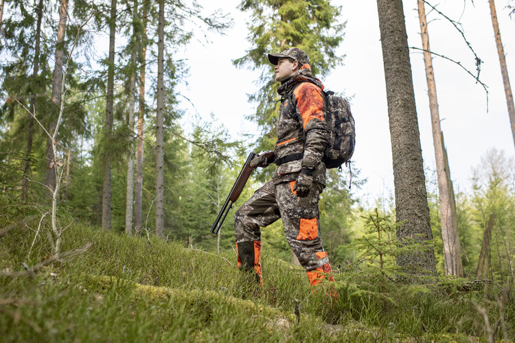 Forest Camo Jakke Strata