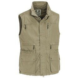 Tiveden Vest Light Khaki