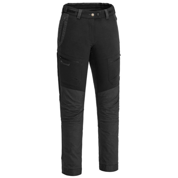 Dame Bukse Finnveden Hybrid Black