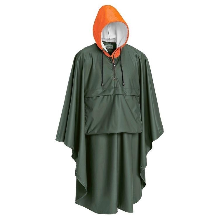 Poncho Gustav Green/Orange