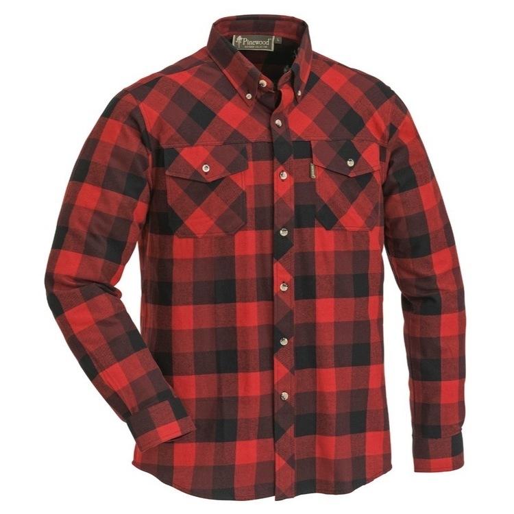 Skjorte Lumbo Red/Black