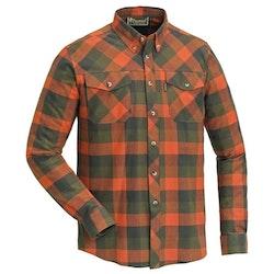 Skjorte Lumbo Terracotta/Green