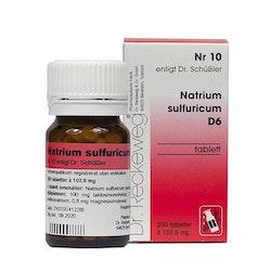 Natrium Sulfuricum Nr10