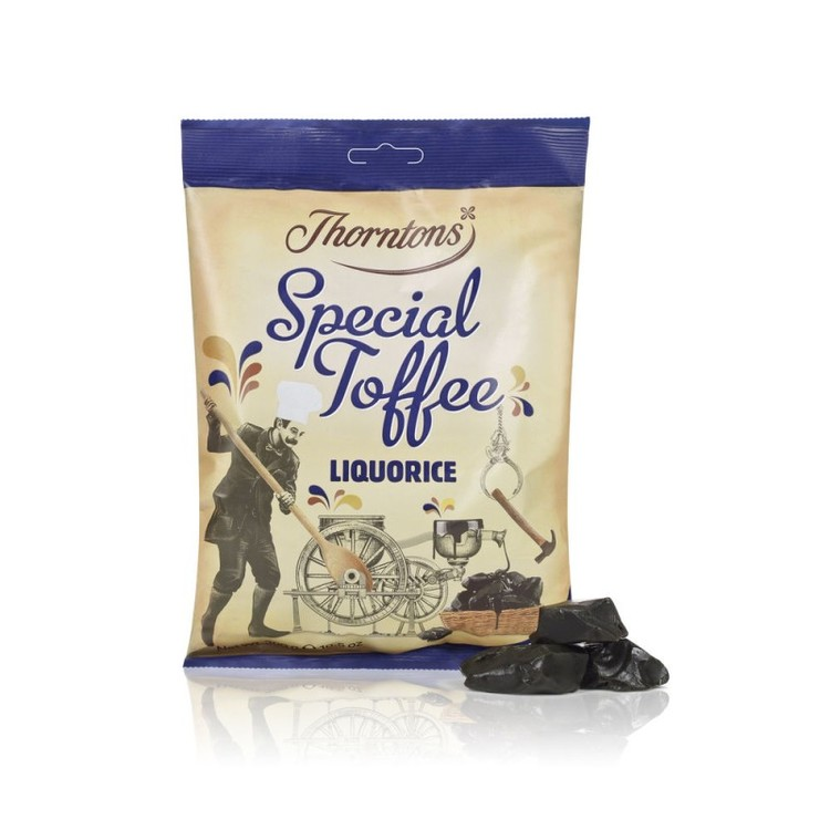 Thorntons lakrits toffee