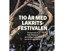 """Bok """"Tio år med Lakritsfestivalen"""""""
