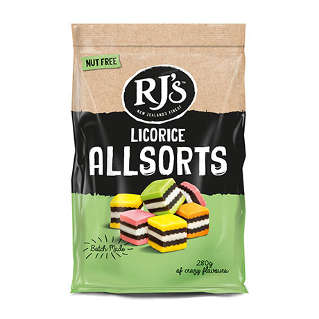 RJ Allsorts lakrits