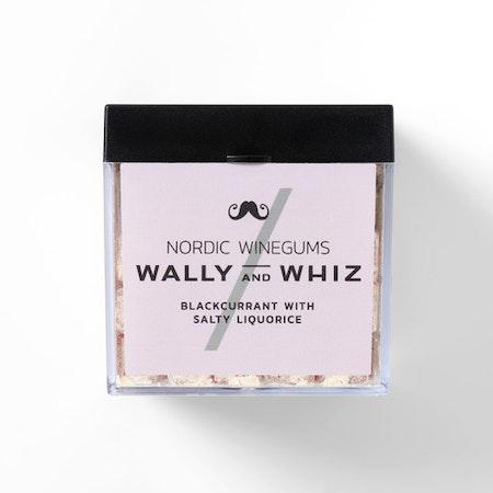 Wally and Whiz vingummin- svartvinbär & saltlakrits