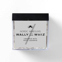 Wally and Whiz vingummin – saltlakrits
