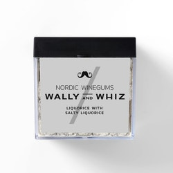 Wally and Whiz vingummin – saltlakrits