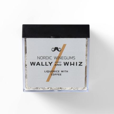 Wally and Whiz vingummin – lakrits & kaffe