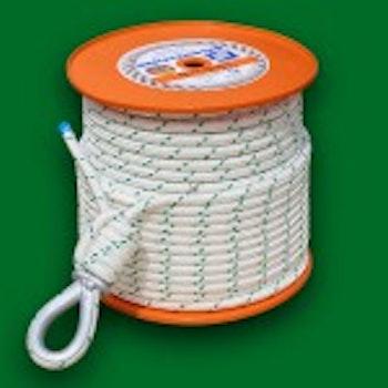 2b. Seil 50 m mit Kausche EDER-Powerwinch 400/500/1200