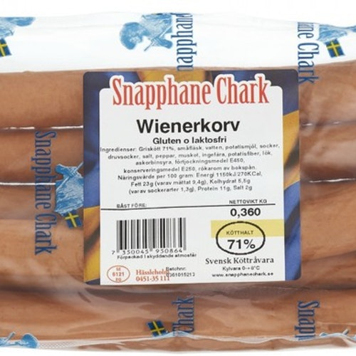 Wienerkorv 360gr