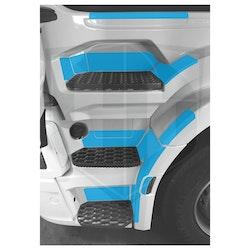 Instegsskydd Scania Next Generation R-serien - förarsida