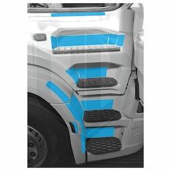Instegsskydd Scania Next Generation S-serien - passagerarsida