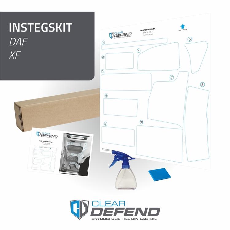 Instegsskydd DAF XF - passagerarsida