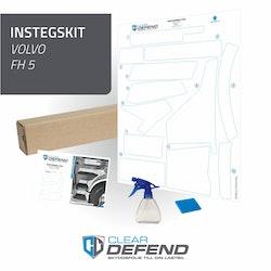 Instegsskydd Volvo FH5 - förarsida