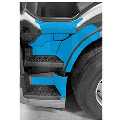 Instegsskydd Volvo FM / FMX 5 - förarsida