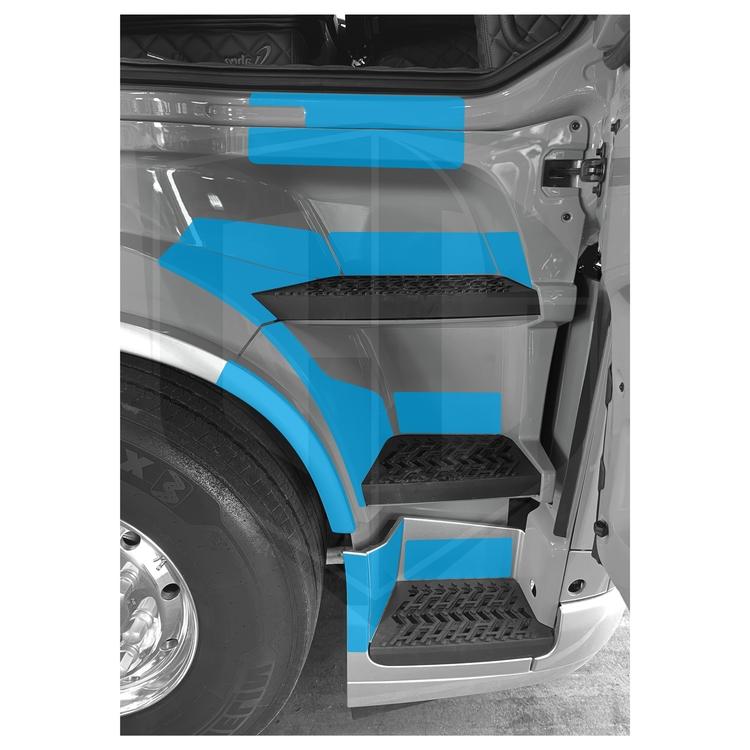 Instegsskydd Volvo FH5 - passagerarsida