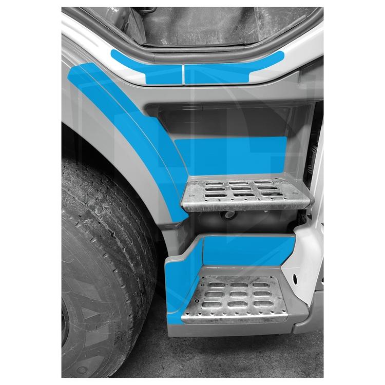 Instegsskydd Volvo FM / FMX 4 - passagerarsidan