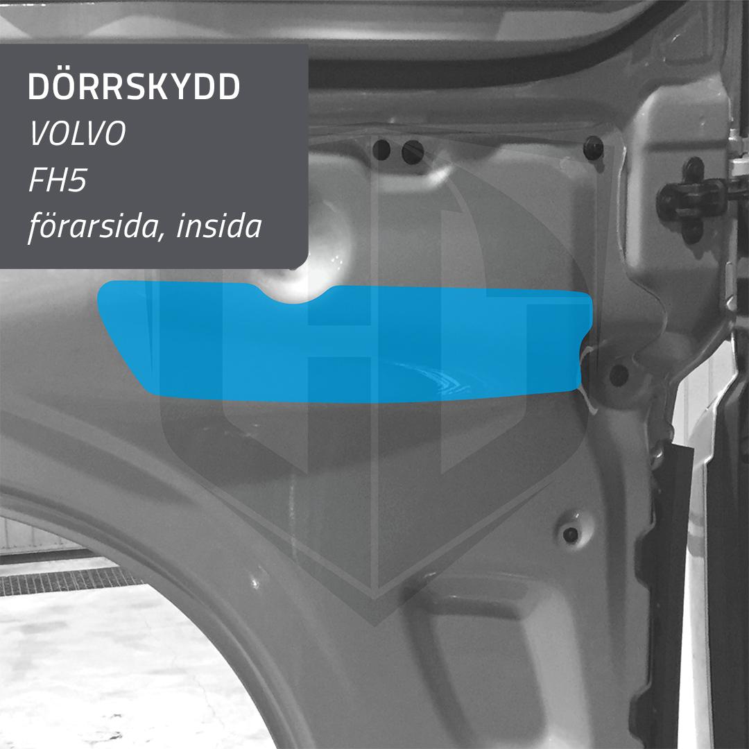 Dörrskydd insida Volvo FH 5 - förarsida
