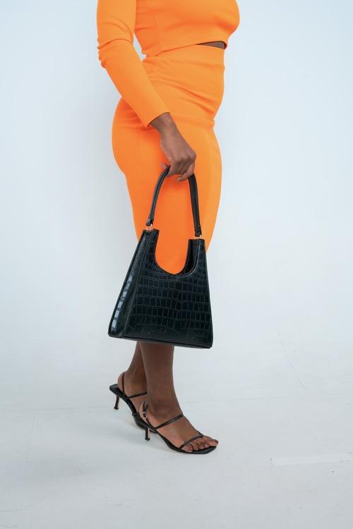 Retro Black Handbag