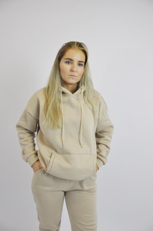 Khaki Sweatshirt Set