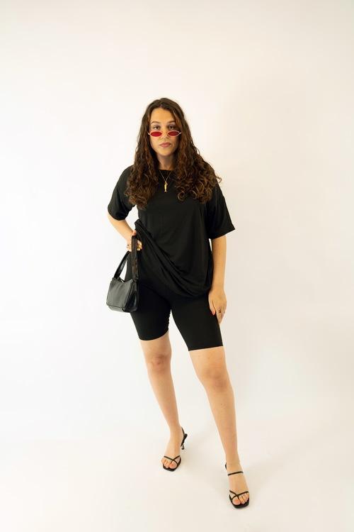 Black T-Shirt Set