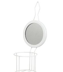 Väggställning m. Spegel för Fotogenlampa Vit