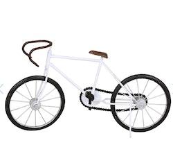 Cykel Racer Vit