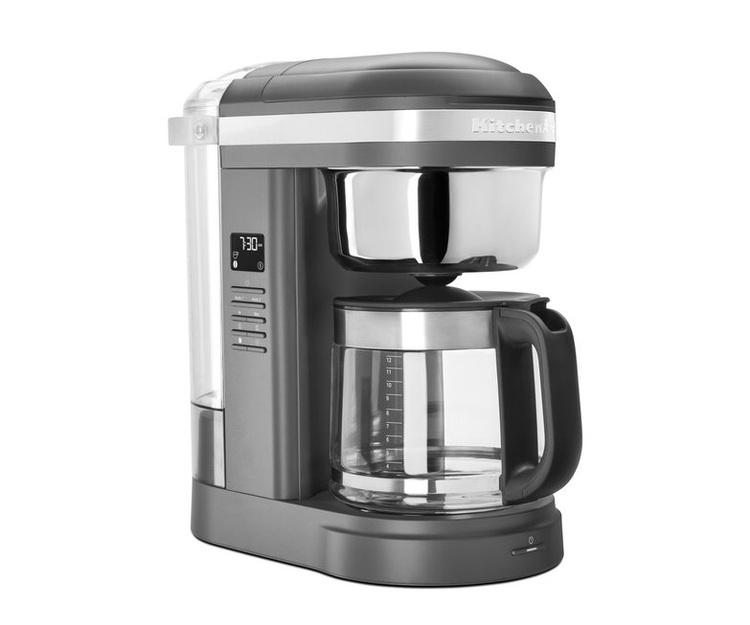 Drip kaffebryggare matt grå - 1,7 liter