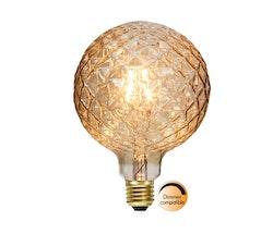 LED-LAMPA E27 G125 DECOLED