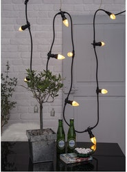 LED-LAMPA E14 C37 FLAME