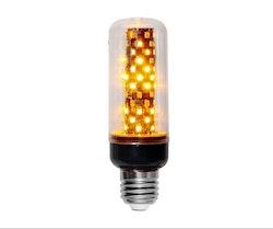LED-LAMPA E27 FLAME