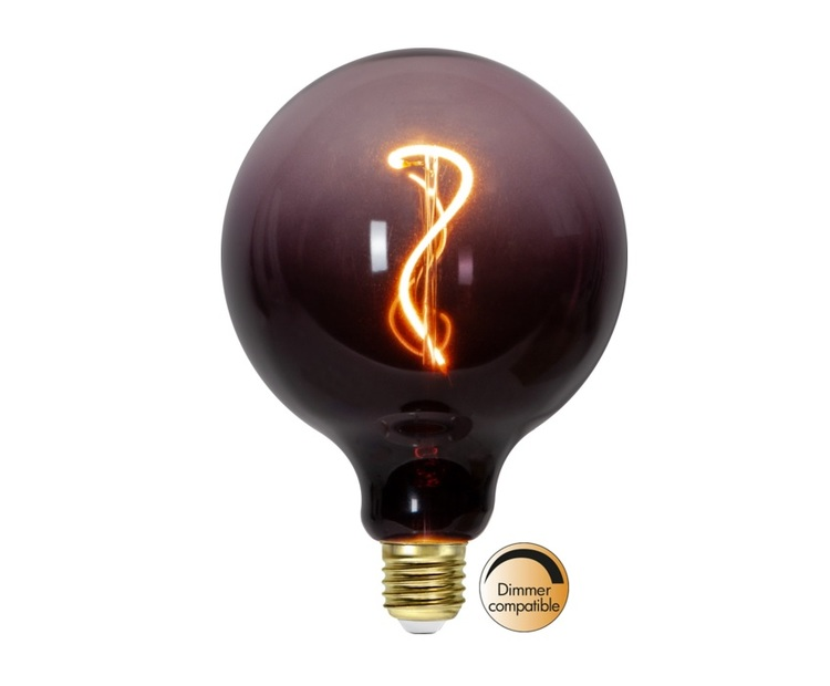 LED-LAMPA E27 G125 COLOURMIX