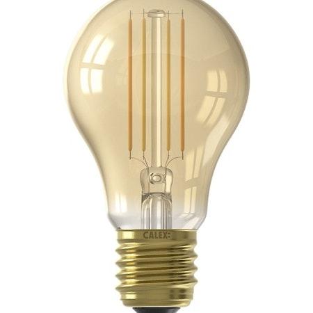Calex Smart LED Glödlampa Guld GLS-lampa A60 E27 220-240V 7W 806lm 1800-3000K