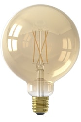 Calex Smart LED-glödlampa Guldglödlampa G125 E27 220-240V 7W 806lm 1800-3000K
