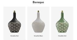 Calex Versailles Noir Led Baroque 220-240V 5W 30lm 1800K E27 dimmable, energy label C