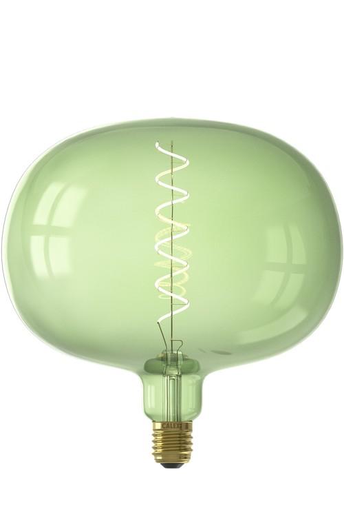 Calex BODEN LED Color range flex filament 220-240V 4W E27, Emerald Green 2200K dimbar
