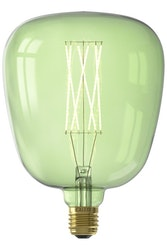 Calex KIRUNA LED Färgsortiment rak glödtråd 220-240V 4W E27, Emerald Green 2200K dimbar