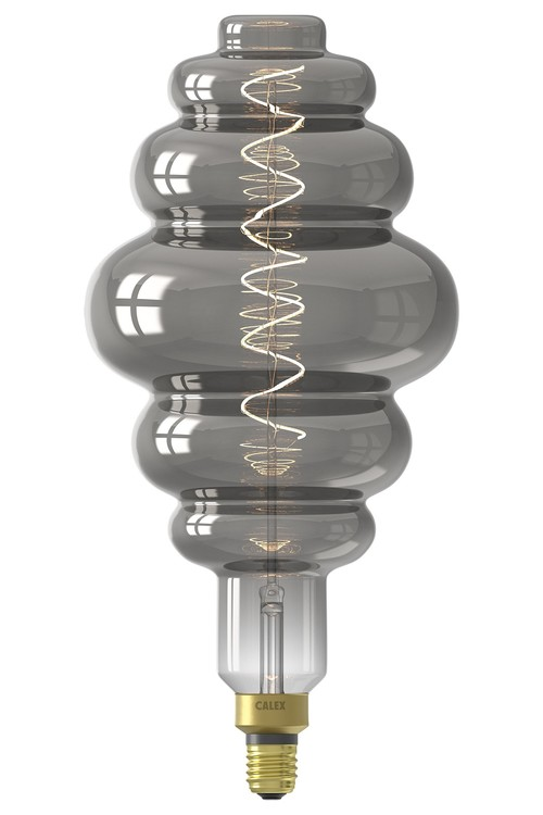 Calex XXL Paris LED-lampa 220-240V 6W 100lm E27 LS200, Titanium 2200K dimbar